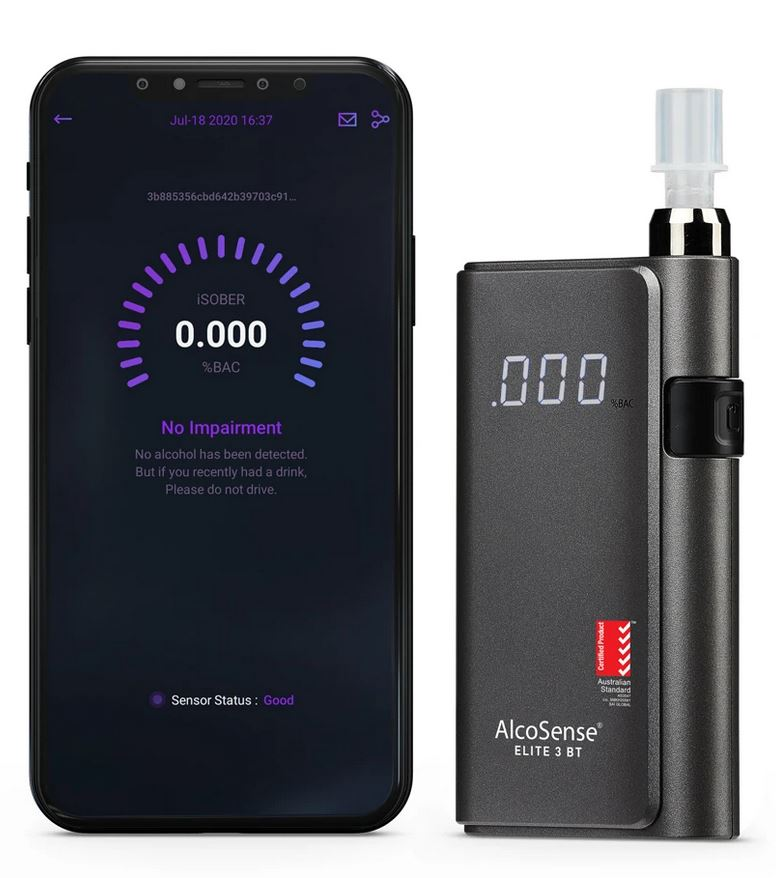 AlcoSense Elite 3 BT breathalyser