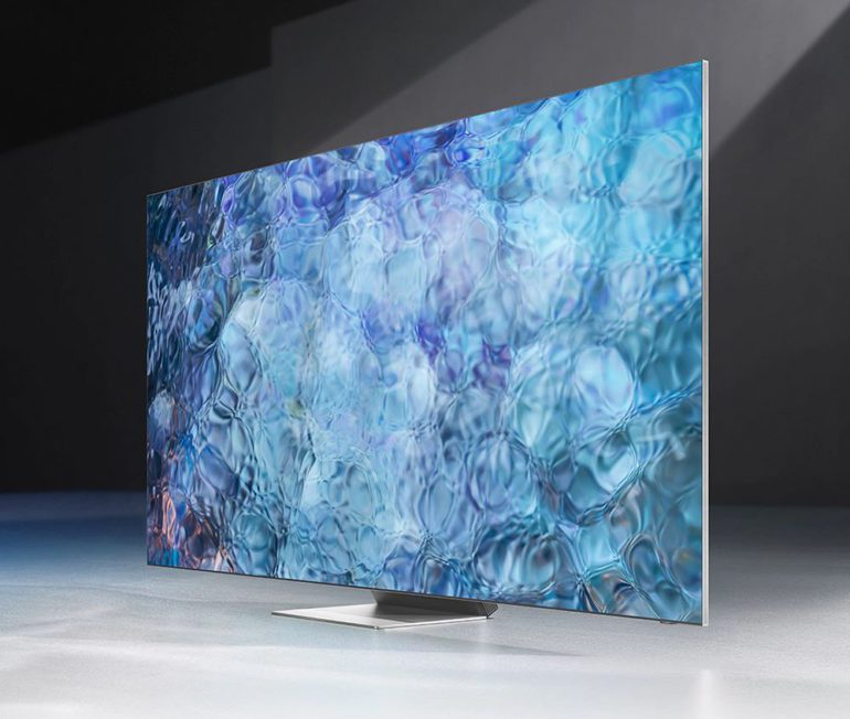 "Samsung QN900A 8K 85"" mini-LED"