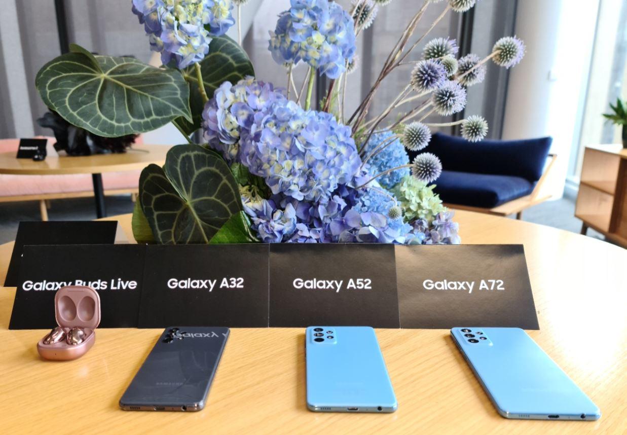 Samsung Galaxy A-series 2021