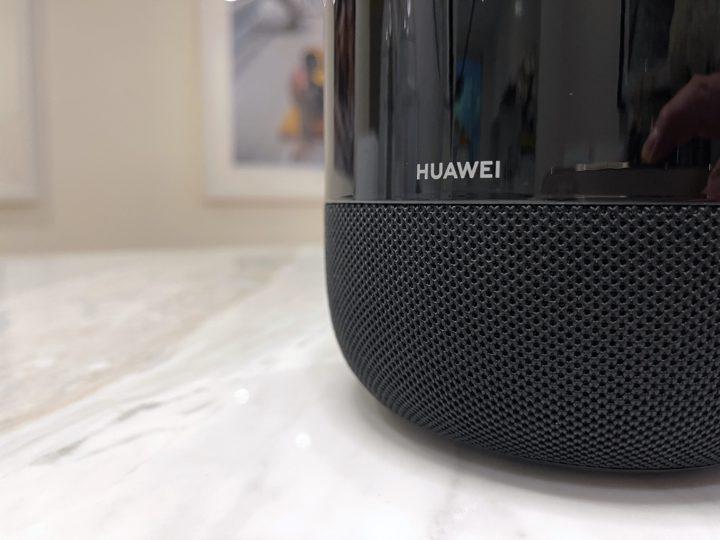 HUAWEI Sound showing logo