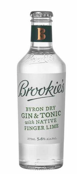 Brookie's Byron Dry Gin & Tonic