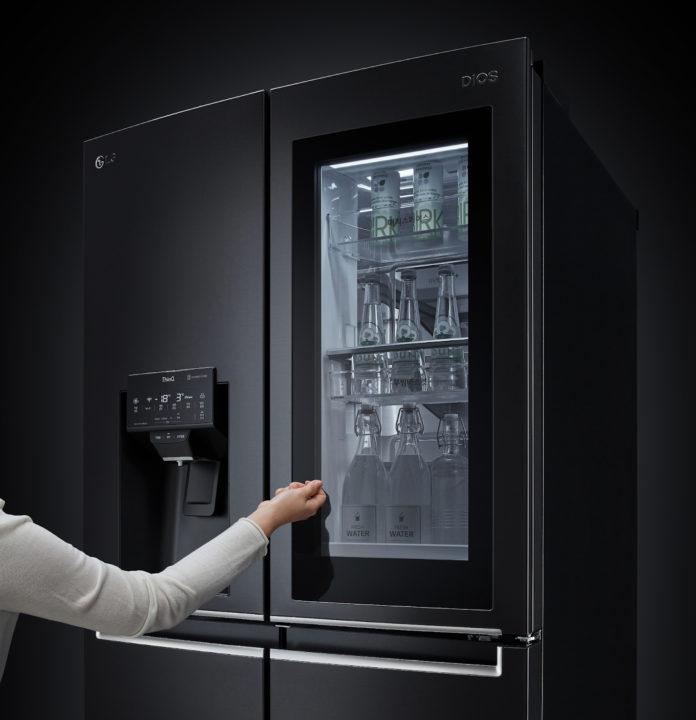 Insta view LG fridge