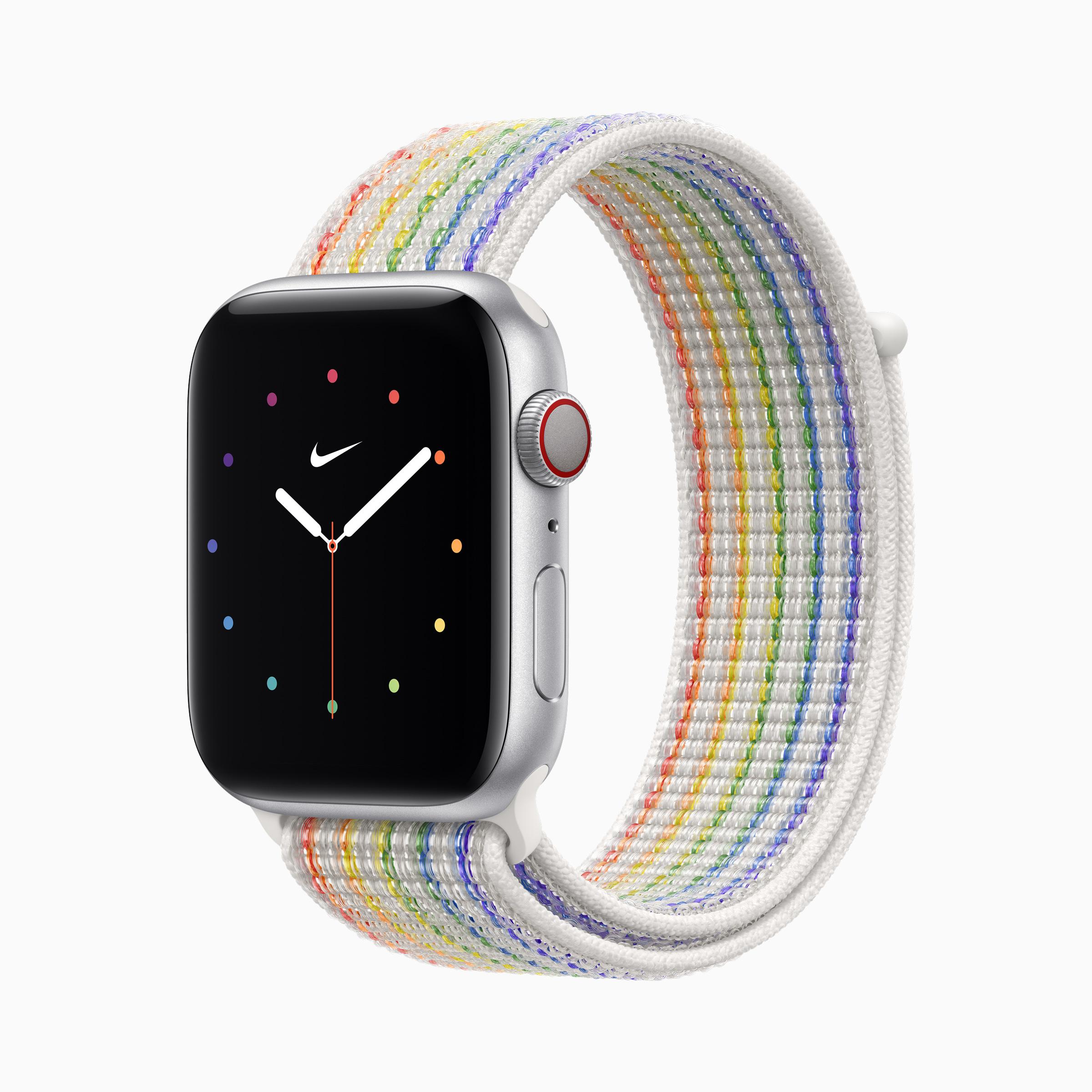 Apple Watch Pride Edition Nike Sport Loop