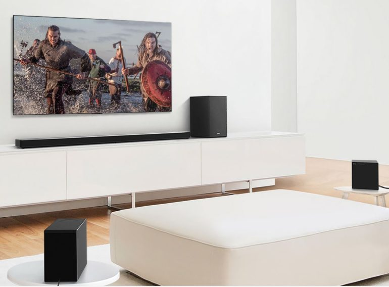 LG Soundbars with Smart Home Compatibility*. Play music using the platform of your choice. Compatible with Hey Google, Amazon Alexa and Apple Airplay 2