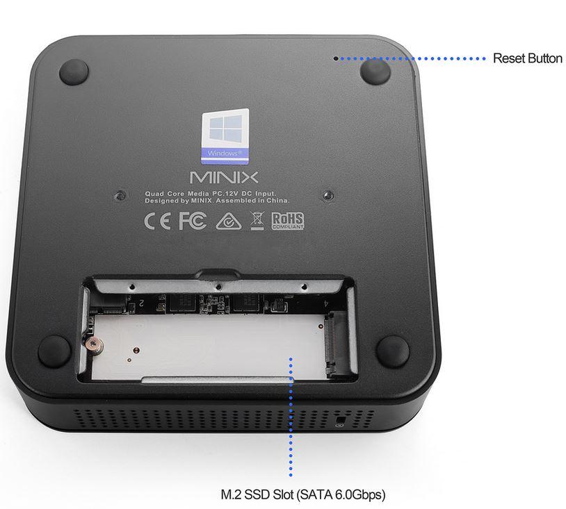 Minix Neo G41V-4 mini-PC SSD