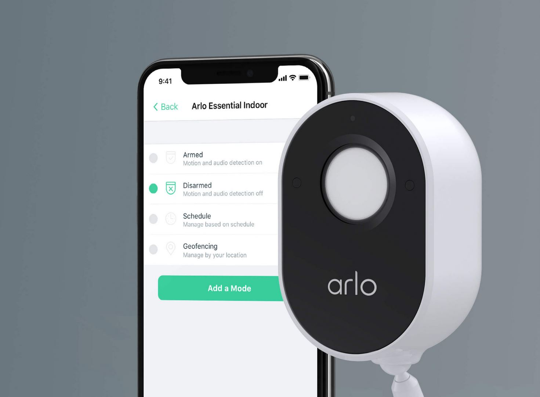 Arlo Essential Indoor Camera - wired