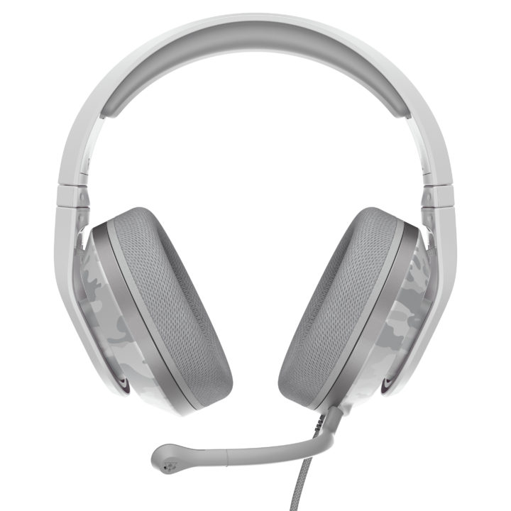 Recon 500 headset in arctic Camo colour and band