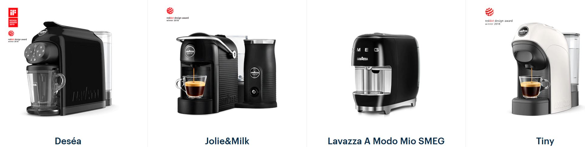 Lavazza Jolie and Milk