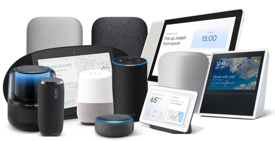 smart speakers with screens