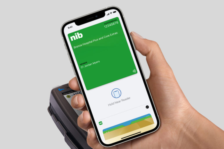 Apple Wallet health insurance