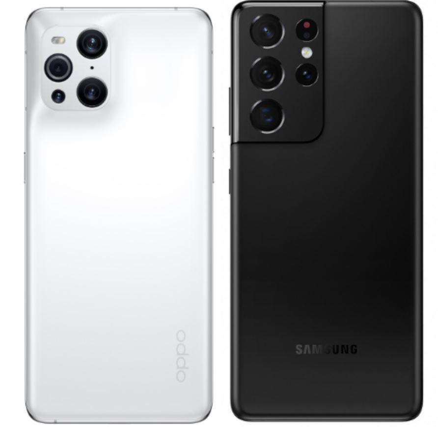 OPPO Find X3 Pro VS Samsung s21 ultra