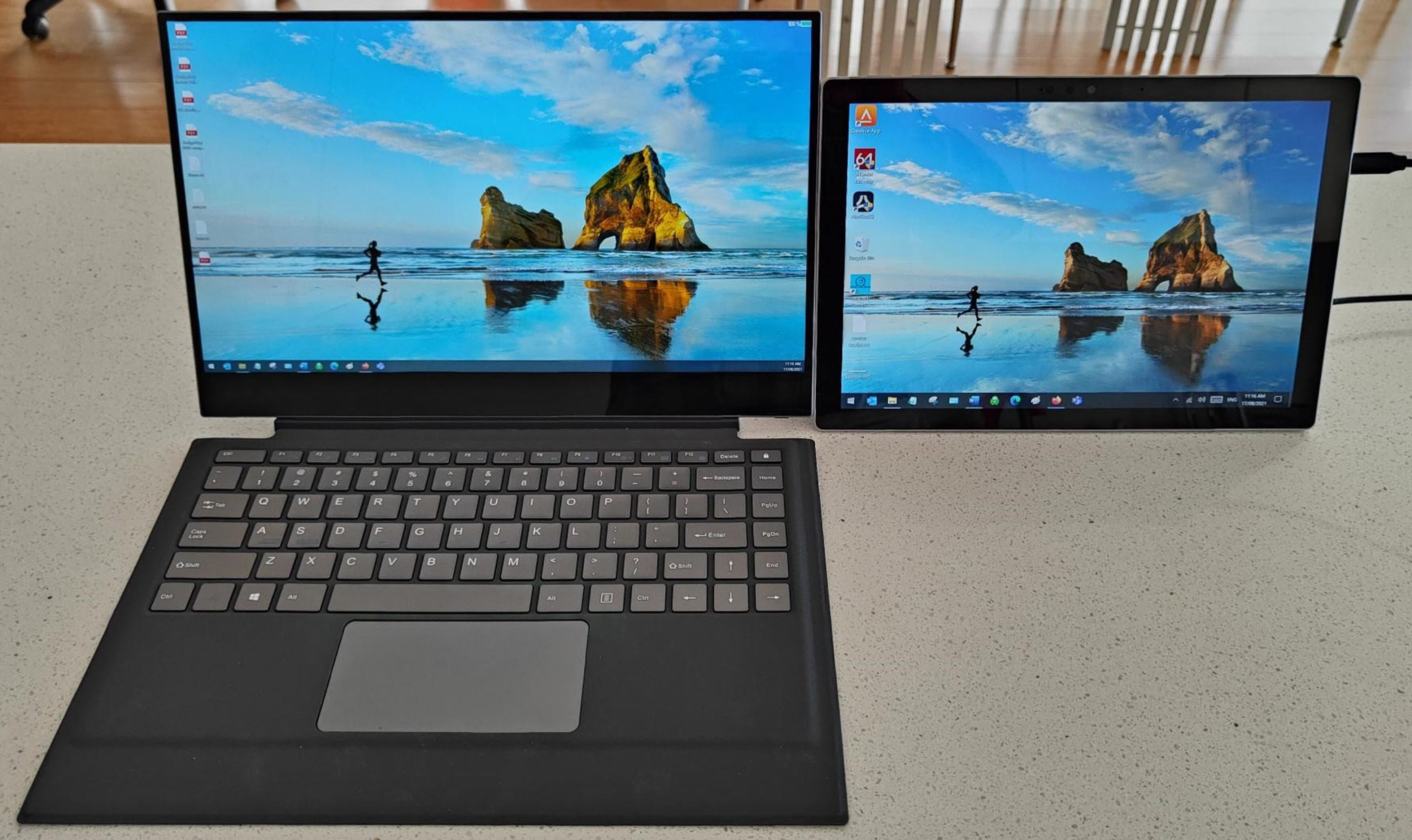 X Pro vs Surface Pro 7