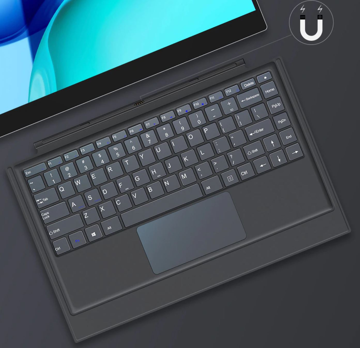 """UPERFECT X Pro 15.6"""" 4K Lapdock keyboard"""