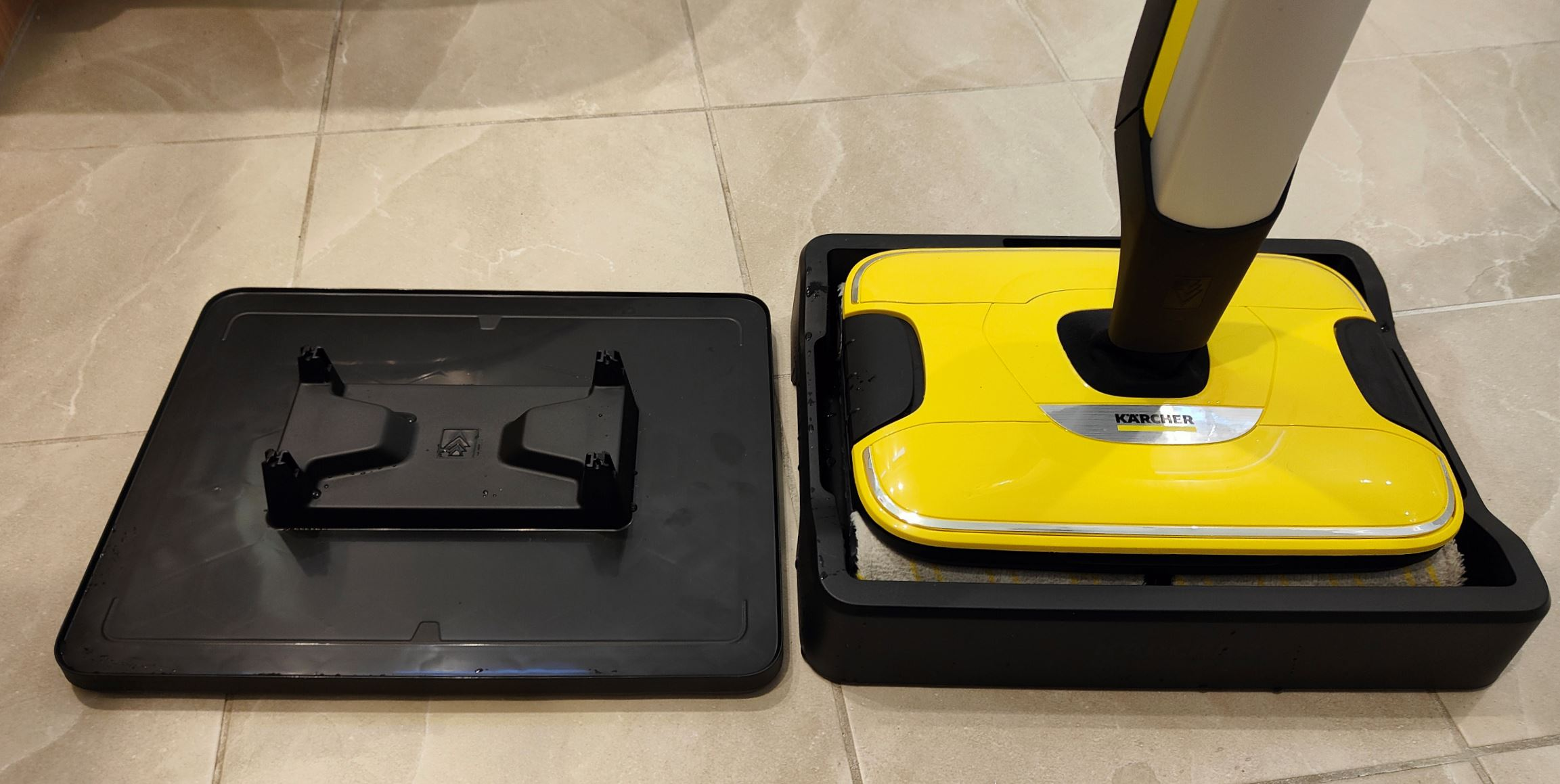 Karcher FC 7 roller tray and stand