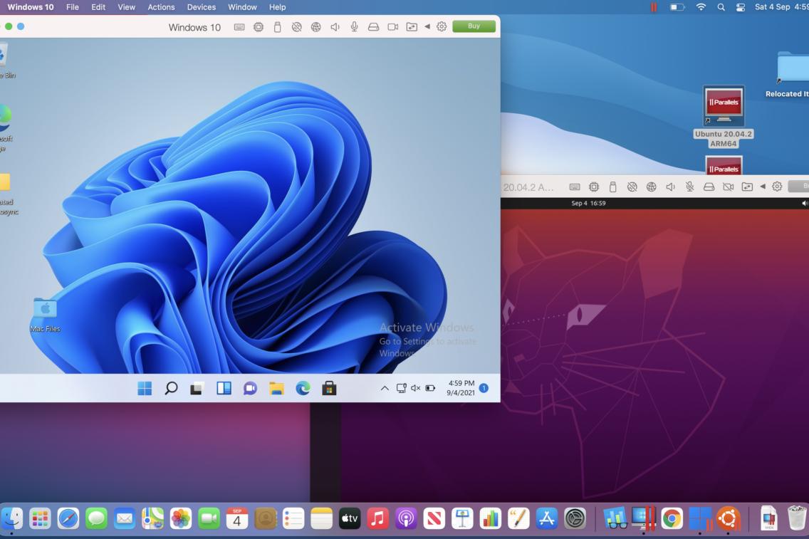 Parallels Desktop for Mac 17