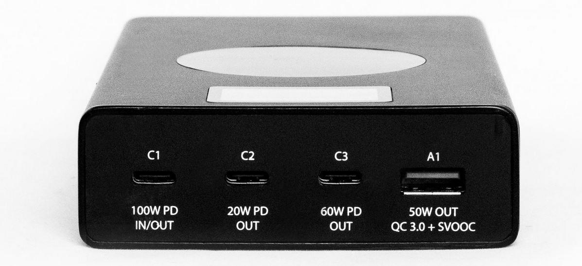 Chargeasap Flash Pro ports