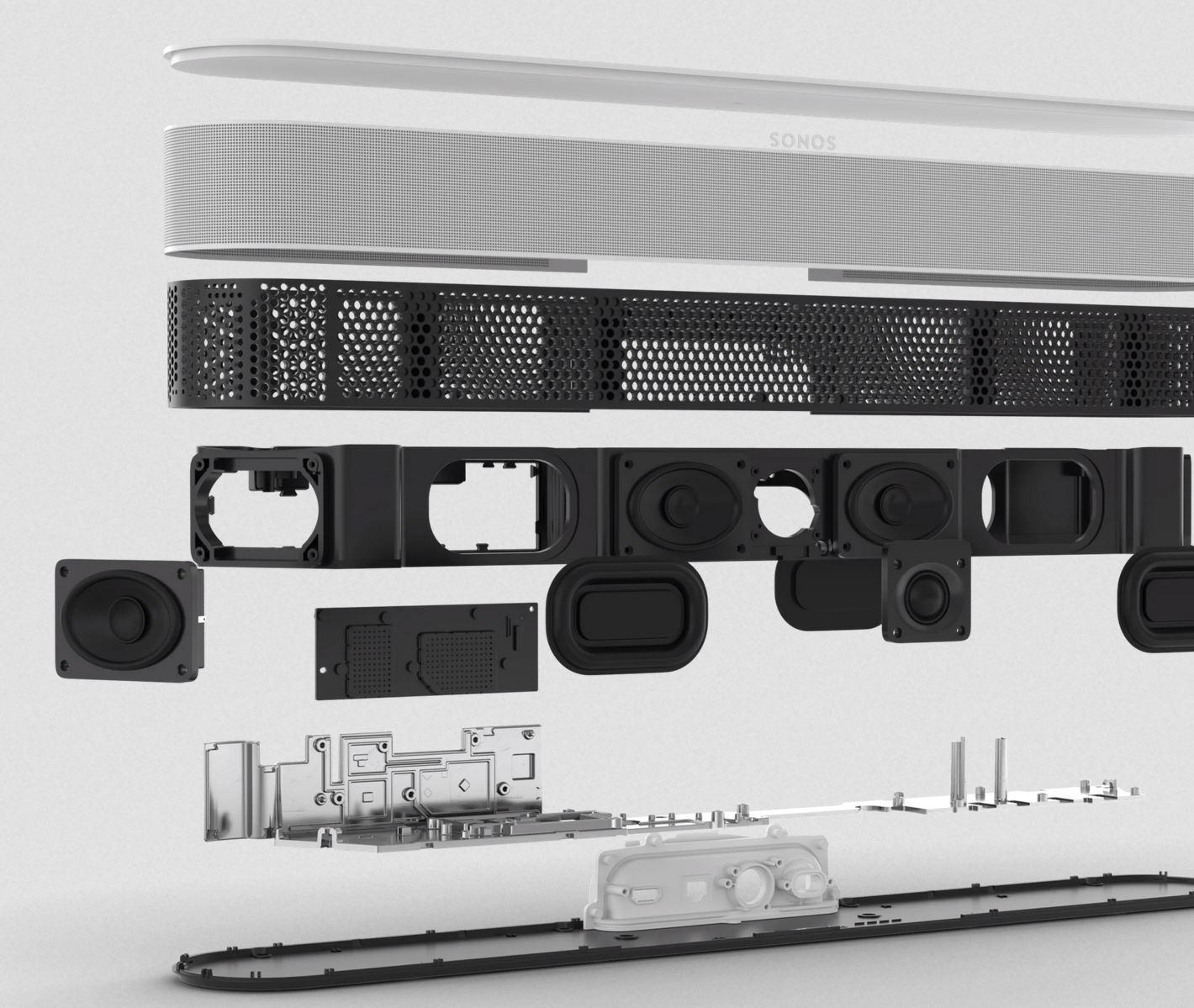 Sonos Beam Gen 2 speakers